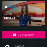 iPhone TV-Programm