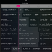 iPad TV-Programm