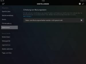 iPad Datenschutz