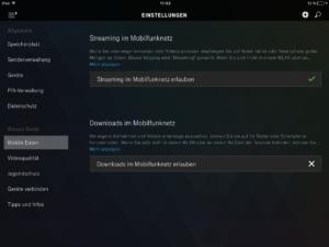 iPad Mobile Daten