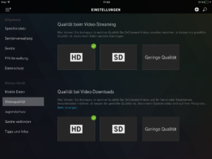 iPad Videoqualität