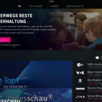 iPad TV-Programm ohne Mobiloption