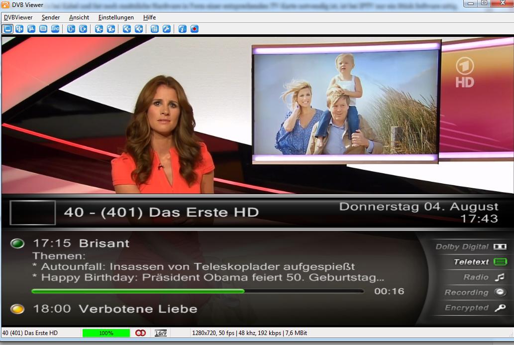 DVBViewer - Free Download for Windows 10 64 bit / 32 bit
