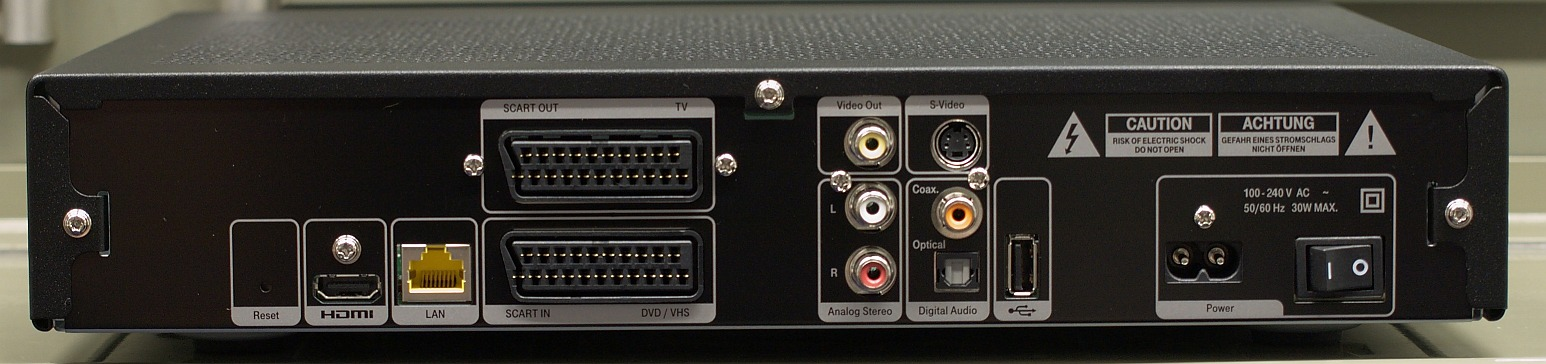 telekom media receiver 300 typ a mit festplatte 4025125527337 ebay. Black Bedroom Furniture Sets. Home Design Ideas