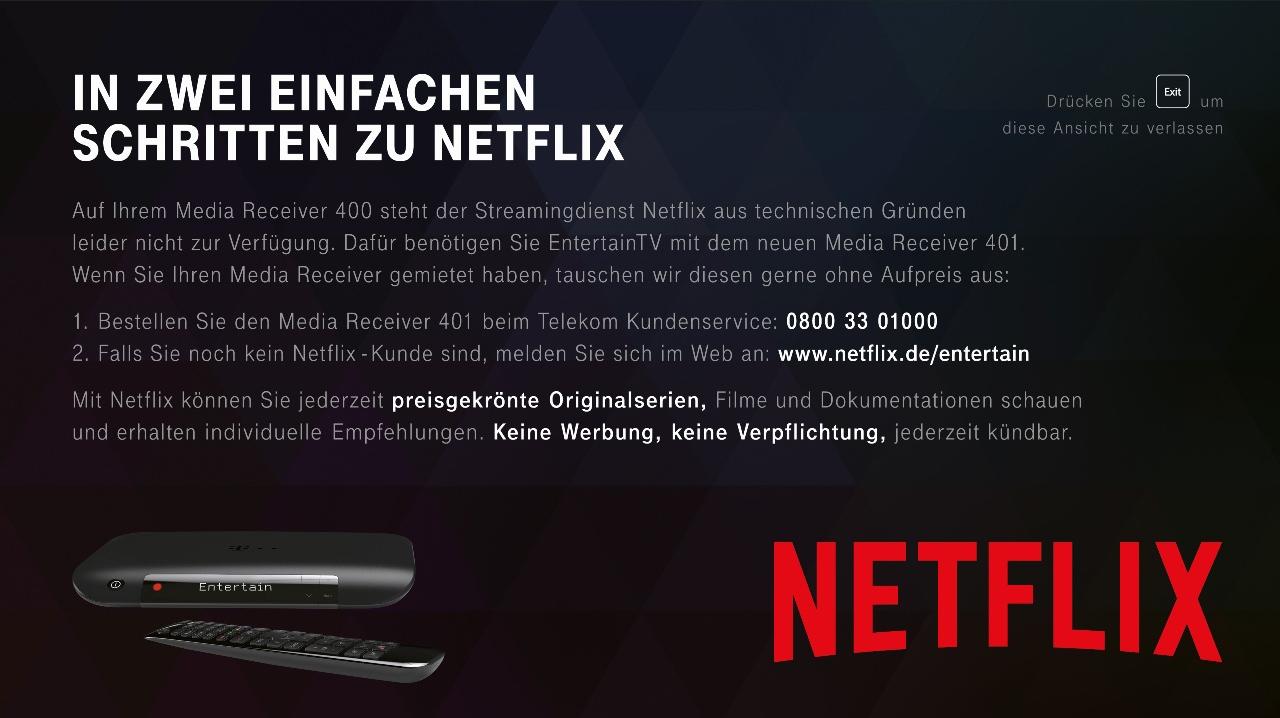Netflix Hinweis App Auf Den Mr200400 Iptvblog
